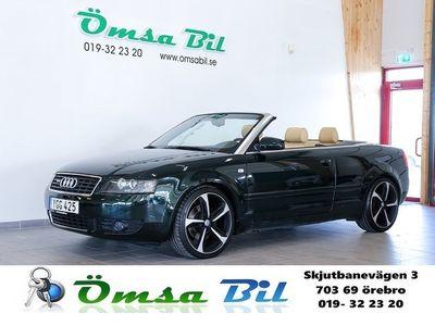 begagnad Audi A4 Cabriolet 2.5 TDI V6 S-line 163hk