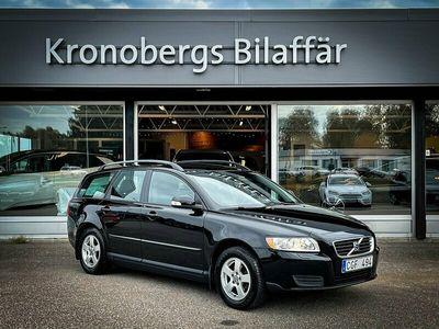 begagnad Volvo V50 2.0 Flexifuel Kinetic 145hk * Drag*