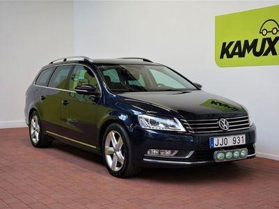 begagnad VW Passat 2.0 Tdi 4Motion DSG Drag Värmare Ny Kamrem