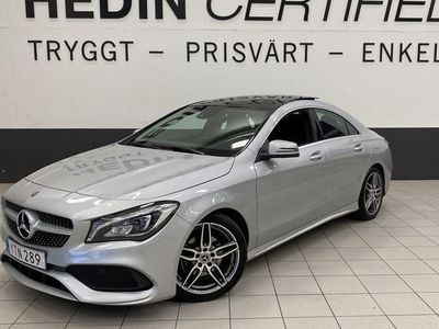 begagnad Mercedes CLA180 AMG Coupé Panorama Drag