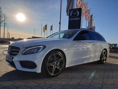 begagnad Mercedes C220 T d AMG Sport 170hk