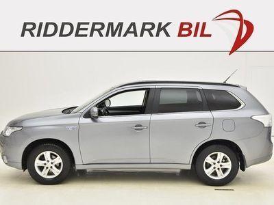 brugt Mitsubishi Outlander 2.0 PHEV 4WD SKINN NAVI DRAG 2014, SUV 202 900 kr