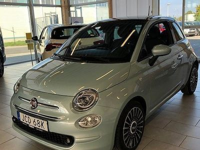 begagnad Fiat 500 Hybrid 1.0 Launch Edition 70hk