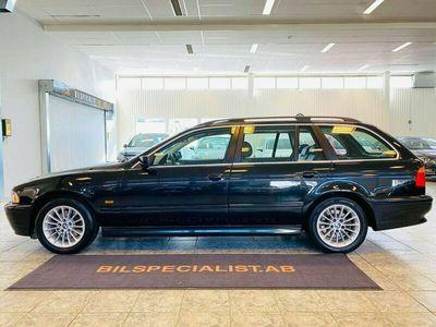 begagnad BMW 525 i Touring E39 Taklucka Läder Navi NY-BES 192hk 0%Ränta