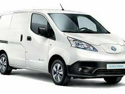 begagnad Nissan e-NV200 Van 40 kWh PREMIUM 109hk