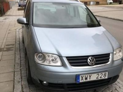 begagnad VW Touran 1,4 tsi 06 ( Gör det själv ) -06