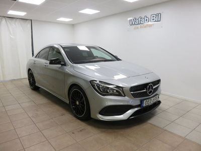 begagnad Mercedes 200 CLA-KlassAMG Sport Night Package, Vinterhjul, Dragkrok, FINT SKIC