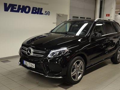 begagnad Mercedes 350 GLE Benzd 4MATIC Automat AMG LIne Minnespaket Harmon Kardon Parkerin 2018, SUV 549 000 kr
