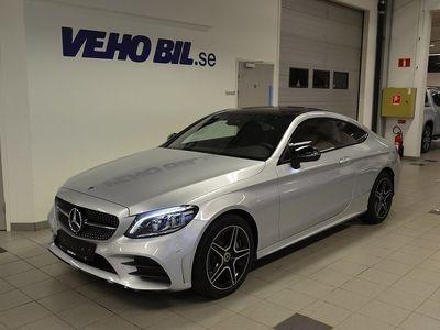 begagnad Mercedes C220 d/4MATIC/Automat/Panoramatallucka/Comand Onlie/Burmester/A