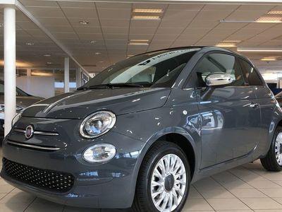 begagnad Fiat 500C LOUNGE 1.2 69 HK *AUTOMAT* EL-CABRIOLET