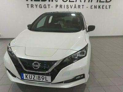 begagnad Nissan Leaf 40 kWh N-Connecta Two tone 2019, Halvkombi Pris 284 900 kr