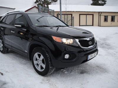 begagnad Kia Sorento 2,2 CRDI EX/AUTO/SKINN/AWD/SVENSK -11