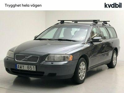 begagnad Volvo V70 2.4 (170hk) Kinetic, Dragkrok