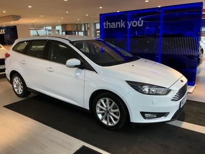 begagnad Ford Focus 1.0T (125hp) EcoBoost Titanium HGV