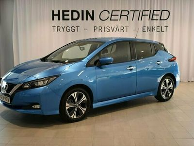 begagnad Nissan Leaf N-CONNECTA MY19.5 40 KWH LED 2020, Halvkombi Pris 279 900 kr