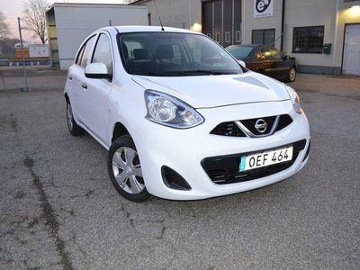 gebraucht Nissan Micra 1.2 Euro 6 80hk EN ÄGARE -16