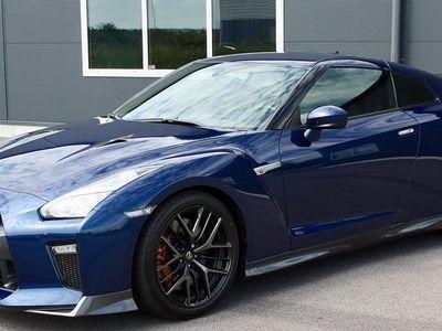brugt Nissan GT-R 3.8 Black Edition 570hk 4200:-/må -18