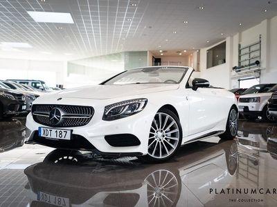 begagnad Mercedes 500 S-KlassCAB AMG DESIGNO BURMESTER 1731 MIL