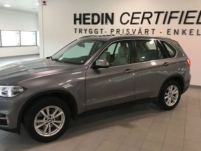 begagnad BMW X5 xDrive40d Steptronic navigation professional Dragkrok Euro 6 313