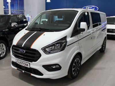 begagnad Ford Custom Sport Dubbelhytt 5 sits 2,0 Tdci 185hk aut