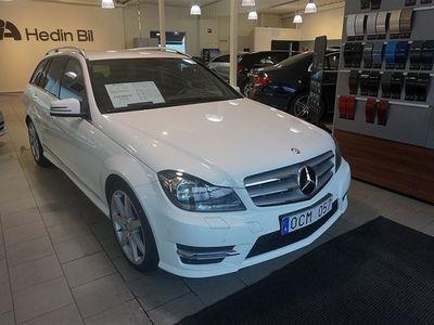 begagnad Mercedes C220 CDI / Automat / AMG line / Dragkrok