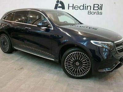 begagnad Mercedes EQC Benz 400 4 MATIC Dragkrok 2021, SUV Pris 814 900 kr