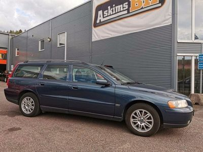 begagnad Volvo V70 2.4 170hk Drag Kamrem bytt Nya bromsar