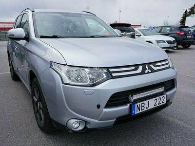 begagnad Mitsubishi Outlander 2.2 Di-D 4WD Manuell | S&V-Hjul | 2013, SUV Pris 119 800 kr
