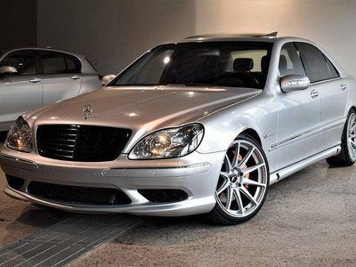 begagnad Mercedes S55 AMG AMG L 500hk 11000MIL FULLU -03