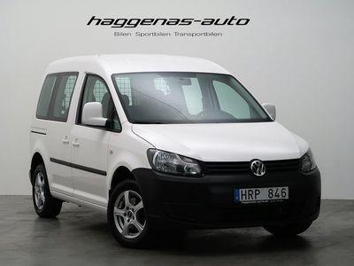 begagnad VW Caddy Life 2.0 EcoFuel / 109hk / Låg Skatt