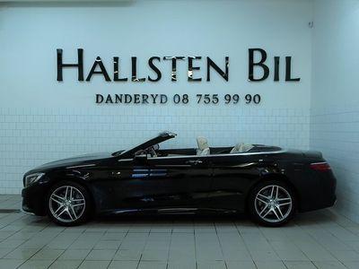 brugt Mercedes 500 S-KlassCab 9G-Tronic AMG-Sport Euro6 455hk