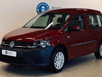 begagnad VW Caddy Life 1.4 TGI CNG 110hk