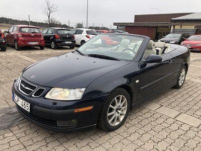 begagnad Saab 9-3 Cabriolet 2.0T 210HK AUT VECTOR ARC 2-ÅRS GARANTI