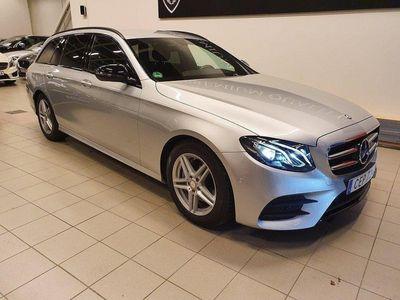 begagnad Mercedes E220 AMG Sport 1-Ägare GPS