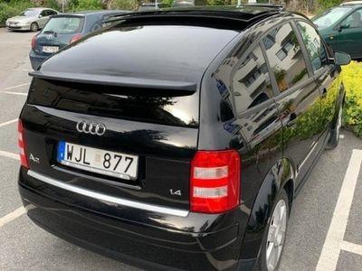 begagnad Audi A2 taklucka lågmilare