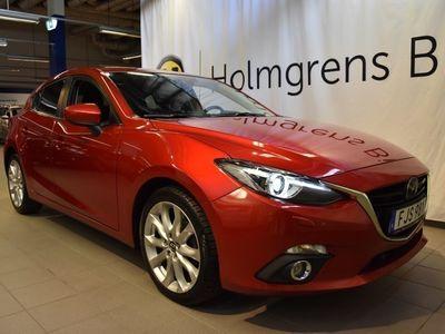 gebraucht Mazda 3 2,2D optimum. Xenonljus. Psensorer fram och bak.