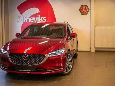 begagnad Mazda 6 Wgn A6 2.5 Optimum 194 hk Signature
