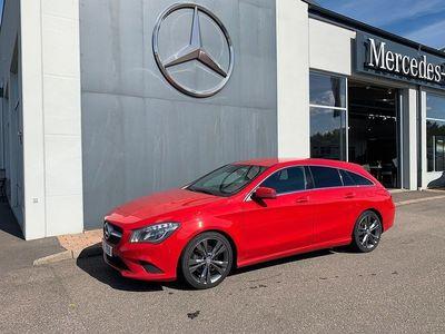 begagnad Mercedes CLA180 Shooting Brake Nyservad