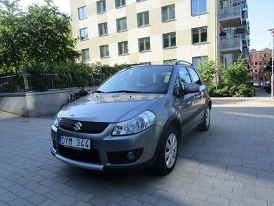 used Suzuki SX4 1.9 DDiS VVT 4WD 120hk,Drag -08