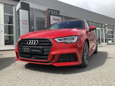 begagnad Audi A3 Sportback Sport 1.5 TFSI 150HK S-Line Selection