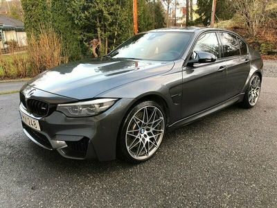 begagnad BMW M3 Competition DCT M Competition Euro 6 450hk Leasbar