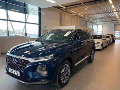 begagnad Hyundai Santa Fe 2.2 CRDi 4WD Automat Euro 6 7-sits 200hk