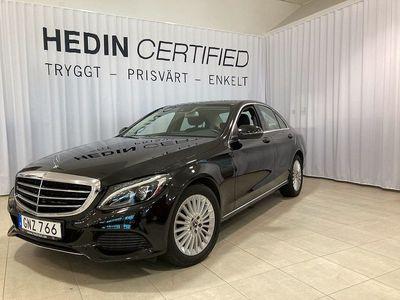 begagnad Mercedes C220 D SEDAN EXCLUSIVE DRAG