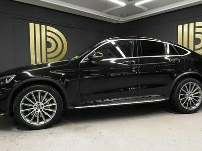 begagnad Mercedes E250 GLC Benz d Coupé 4MATIC AMG Pano Burmester Drag 2017, SUV Pris 428 900 kr