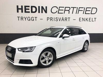 begagnad Audi A4 2.0TDI S-line Sportpaket V-hjul 2017, Personbil 204 900 kr