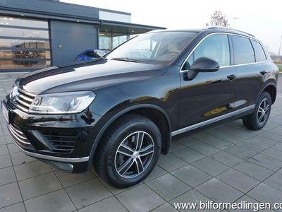 begagnad VW Touareg 3.0 TDI 204hk 4M Aut Momsbil Chrome & Style Navi Drag Skinn Svensksåld 1 Ägare