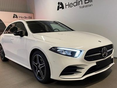 begagnad Mercedes A200 A BenzAMG LINE WIDESCREEN NIGHTPACKAGE LAGERBI 2021, Halvkombi Pris 327 800 kr