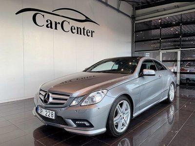 begagnad Mercedes E220 CDI Coupé*Skinn*Panorama*AMG