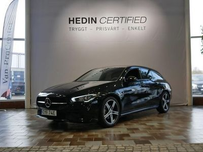 begagnad Mercedes 180 CLA BenzSB NIGHTPACKAGE & NAVIGATION 2020, Sportkupé 289 900 kr