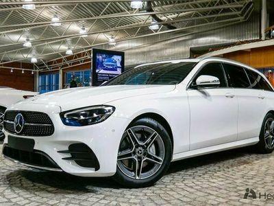 begagnad Mercedes E200 E BenzAMG Line & Adaptiv farthållare 2021, Kombi Pris 513 850 kr